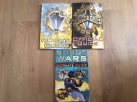3 Robot Wars books L@@K