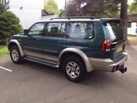 2003 MITSUBISHI SHOGUN SPORT V6 AUTOMATIC 4X4 STUNNING CLEAN SUV SAME AS X5*ML*LANDROVER*PAJERO*