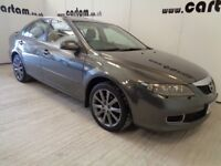 2006 Mazda 6 2.3 Sport Grey History Leather Sunroof Bose Air-Con Alloys 5door 6speed HPi Clear £1795
