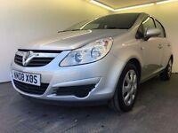 2008 | Vauxhall Corsa 1.4 Club | Manual | Petrol | 3 Months Warranty | Service History | 1 Year MOT
