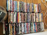 137 assorted DVD's in good condition collect only