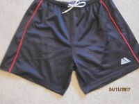 Mens Pendle black football shorts X 14