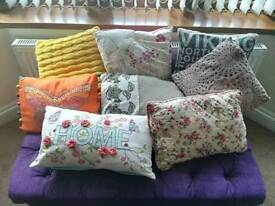A selection of cushions
