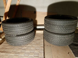 "Complete set of 19"" Winter tyres BMW."