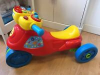 Vtech baby 2 in 1 trike to bike