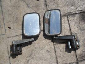one set landrover tdi mirrors