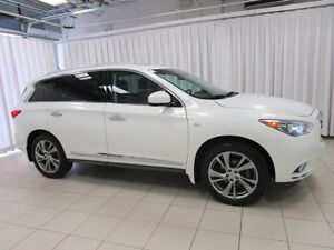 2014 Infiniti QX60 3.5 DVD, NAVIGATION, LEATHER, SUNROOF AND SO