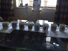 8 royal collectors mugs for sale in Cardiff. All in perfect order