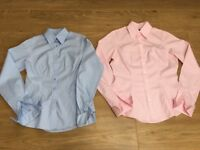 PAIR OF WOMEN'S TM LEWIN SHIRTS - SIZE S
