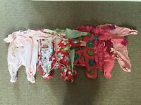 8 x girl's Next baby grows