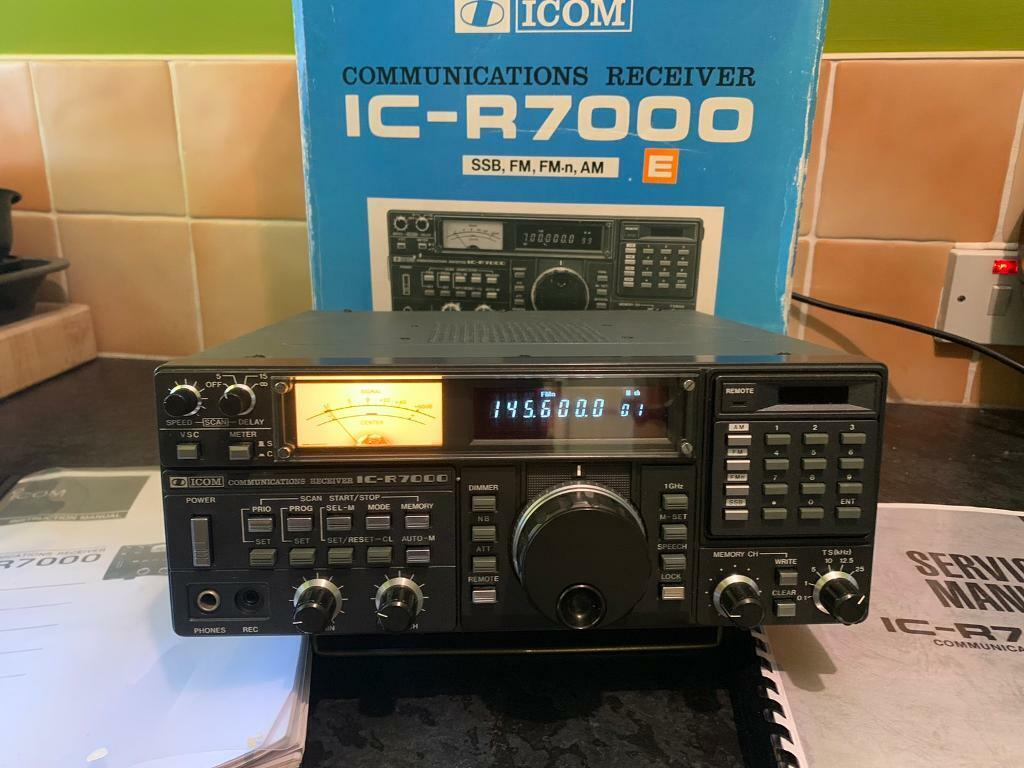 ICOM IC R7000 Radio Receiver/Scanner | in Coleraine, County Londonderry |  Gumtree