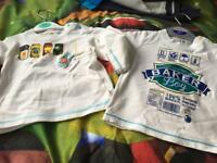 Baby boy ted baker tops x 2