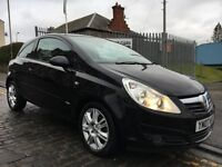 VAUXHALL CORSA 1.4 16V DESIGN, 07 PLATE 2007...70,000 MILES...F.S.H...CLASSY WITH ALL THE TOYS!!