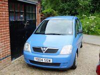 Vauxhall Meriva 1600 MPV