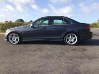 NOV 2010 MERCEDES C-350 SPORT AMG SPEC*BLUE EFF*FMSH*FINANCE & WARRANTY bmw,a4,a6,merc,a5,audi
