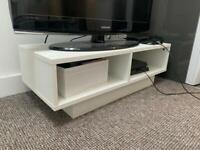 Argos white tv unit