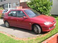 Peugeot 306 Meridian 1.4 2001 Red.