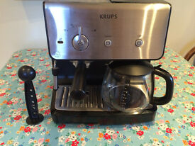 BARGAIN KRUPS EXPRESSO AND CAFFEE MAKER >>>>>>>>>>>>>>>