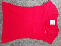 Red T-shirt Hollister size XS