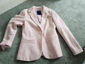 Pink Crew blazer