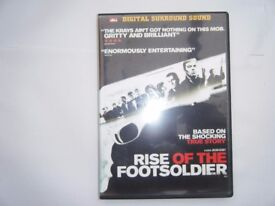The rise of the Footsoldier. DVD. Used in good condition.