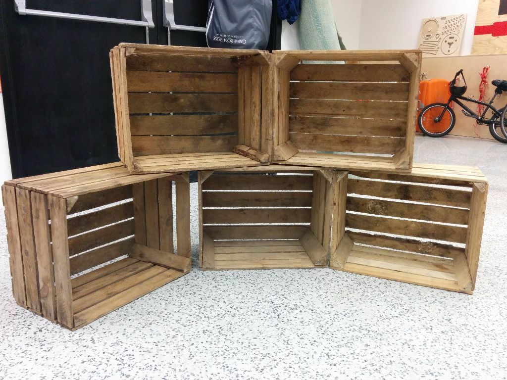 5 x apple crates in mile end london gumtree for How to make apple crates
