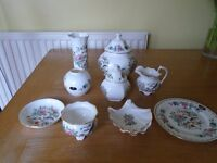 Collection of Aynsley china
