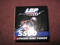 NEW LITHIUM ION MOTORCYCLE BATTERY