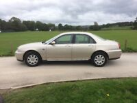 Rover 75 with 12 months mot ... excellent condition , drives superb .