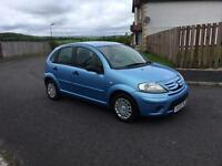 2009 CITROEN C3,1 YEARS MOT,55,000 MILES,£1395