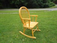Childs Cute Rocking Chair