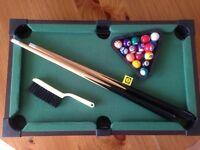 Mini table pool game