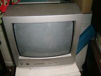 Free Panasonic Older Style Portable Colour TV