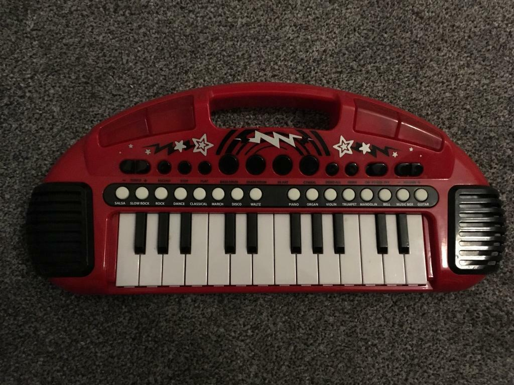 Early Learning Centre Carry Along Keyboard In Scunthorpe