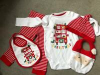 Baby my 1st Christmas 9-12months brand new with tags