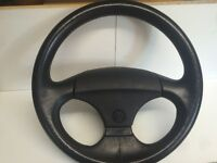 *** Vw Corrado G60 3 Spoke Leather Steering Wheel Suit Mk1 / Mk2 Golf *** £75