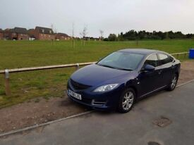 Mazda 6, 2.0 diesel, 2008 (58 reg), 88k miles, brand new cambelt, water pump and battery