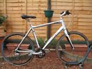 TREK 7.5 FX Hybrid Road Bike. Carbon forks. 700C wheels. 57cm XL frame. 24 speed. Good condition