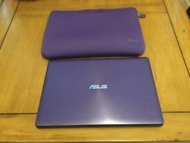 Purple ASUS X5553S Sonic Master and matching Case