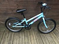 TRAX MOUNTAIN BIKE WITH 6 GEARS AGE SUIT AGES 6 to 9 YEARS
