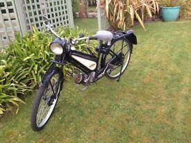 Vintage motorcycle Excelsior