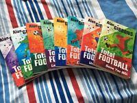 8 TOTAL FOOTBALL BOOKS