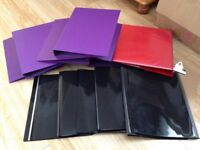 Job Lot of Uni/College Folders/Plastic Folders. Used Yet Excellent! CHEAP!