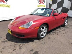2002 Porsche Boxster Manual, Leather, Convertible, 42,000km