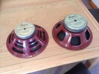 Bugera 12 inch Speakers(Vintage Guitar Series)