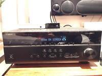 YAMAHA RX-V673 4K 7.2 channel AV Receiver - app control