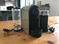 Krups Nespresso Coffee Machine + Milk Frother