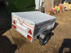 ERDE 102 tipping car trailer