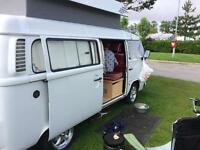 T2 vw 4 berth camper air cooled