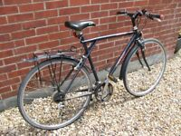 GT Arette Men's Hybrid Bike. Shimano gears. Upgraded tyres. Cycle. Bicycle.